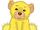 Yellow Fluffy Cub
