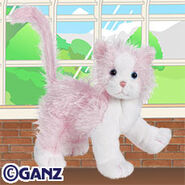Preview pink and white cat