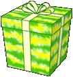 Giftbox Tie Dye Frog