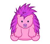 Plum Porcupine