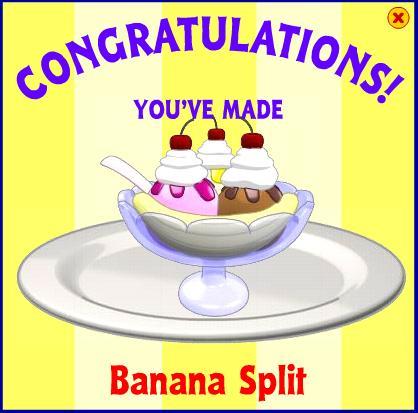 Banana split webkinz wiki fandom powered by wikia bananas cherries and ice cream on stove make the recipe banana split forumfinder Gallery