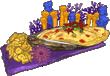 Purplegoldfishfood