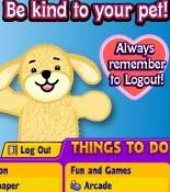 Webkinz Says to Logout