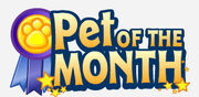 Pet of the Month Logo