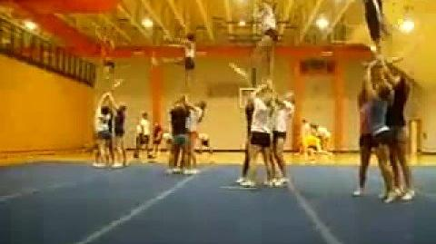 Cat's Cheer Routine