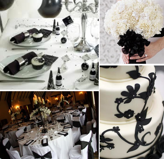 Image - Black-white-winter-wedding-colors-themes.png   The ...
