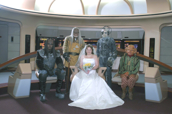 Star Trek Wedding The Everything Wiki Fandom Ed By Wikia