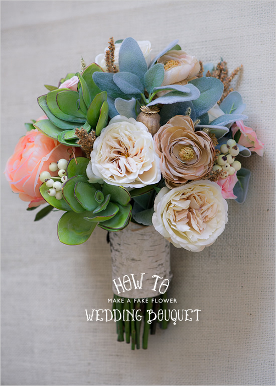 How to Make Your Own Fake Bouquet | The everything Wedding Wiki ...