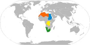 Africa Starter Map