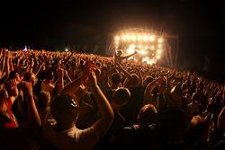 Main stage crowd shot