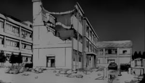 The School Destroyed