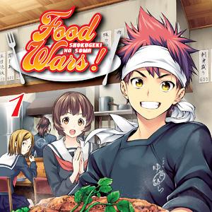 Os melhores animes de culinária