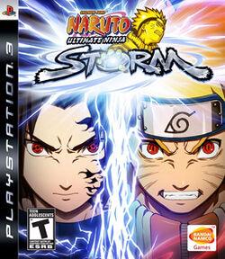 Naruto- Ultimate NS1 box art