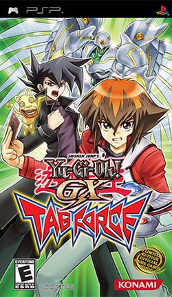 Yu-Gi-Oh! GX Tag Force Cover