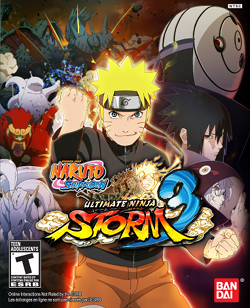 Naruto Shippuden UNS 3 box art