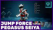 Jump Force Pegasus Seiya Gameplay