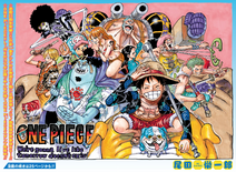 One Piece ch987 Issue 36-37 2020