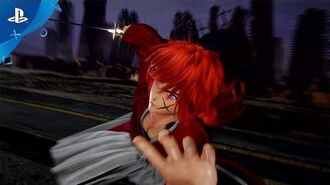Jump Force - Ruroni Kenshin Trailer PS4