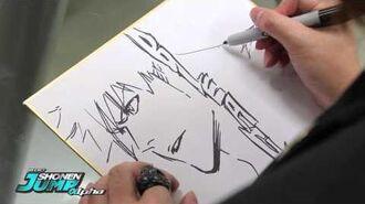 BLEACH Tite Kubo OFFICIAL Creator Sketch Video by SHONEN JUMP Alpha