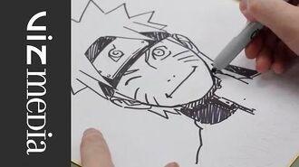 NARUTO Masashi Kishimoto OFFICIAL Creator Sketch Video by SHONEN JUMP Alpha
