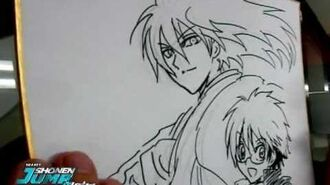 NURA Hiroshi Shiibashi OFFICIAL Creator Sketch Video by SHONEN JUMP Alpha