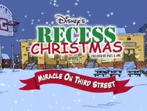 Disneys Recess Miracle on Third Street-title