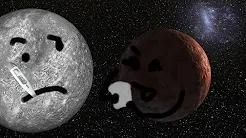 Sedna with sick Mercury