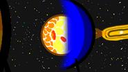 Neptune forming