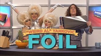 "Exclusive ""Weird Al"" Yankovic Music Video FOIL (Parody of ""Royals"" by Lorde)"