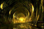 Duce gold tunnel
