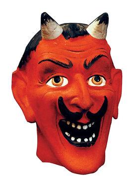 Devil-mask