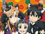 Halloween Costume, Asuna & Yui & Kirito