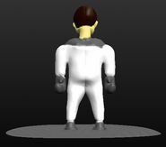 Seth mini collectable figure right back view