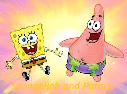 SpongeBob and Patrick title card