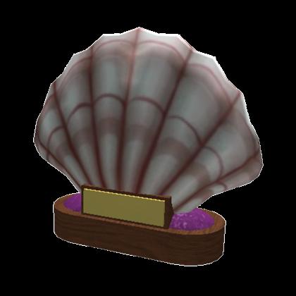 Giant Seashell Trophy Welcome To Bloxburg Wikia Fandom