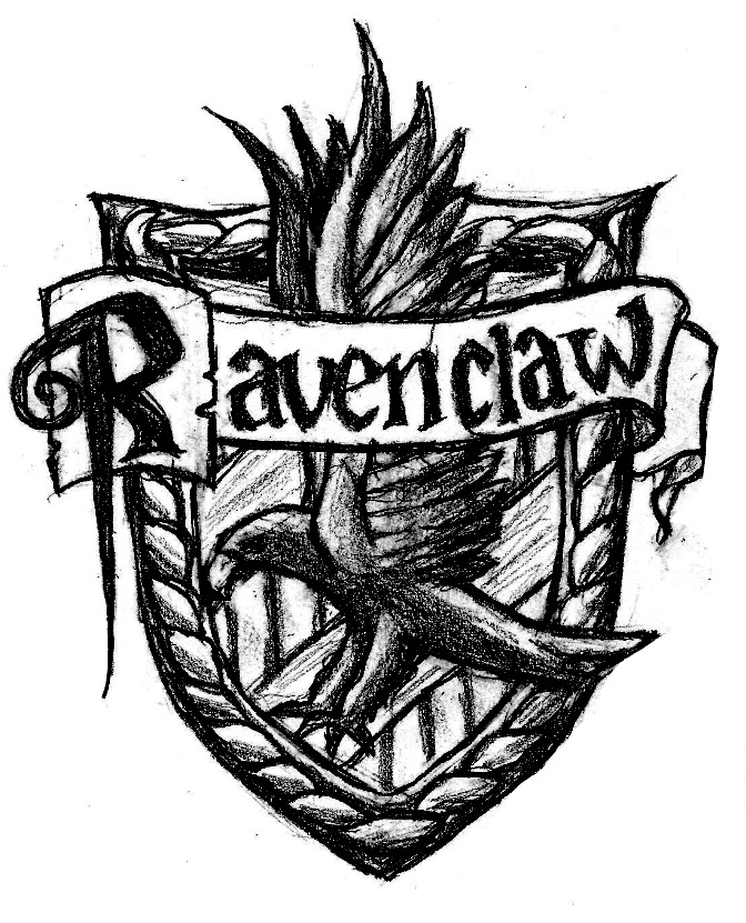 Image Ravenclaw Crest Sketch Jpg Welcome To Cambria