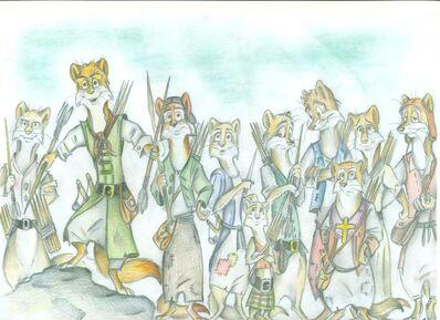 Welkin weasels by fortunatafox-d5kme1r