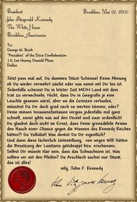 Letter-to-bush
