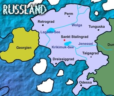 Russlandmap