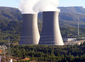 Cofrentes nuclear power plant cooling towers1