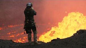 Drones Sacrificed for Spectacular Volcano Video