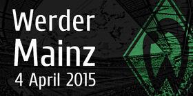 Matches 4 April Werder vs Mainz