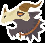 Icon werewolf beserk filled