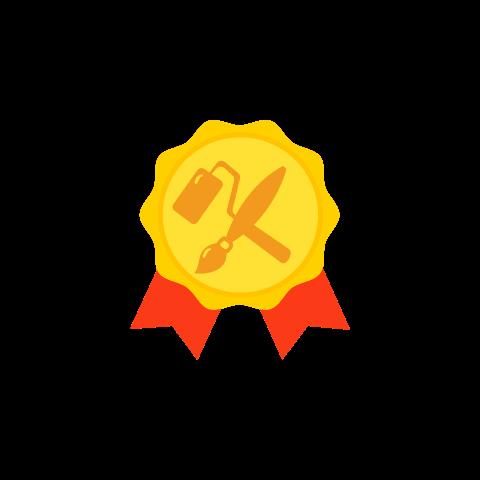 Epic Designer Badge