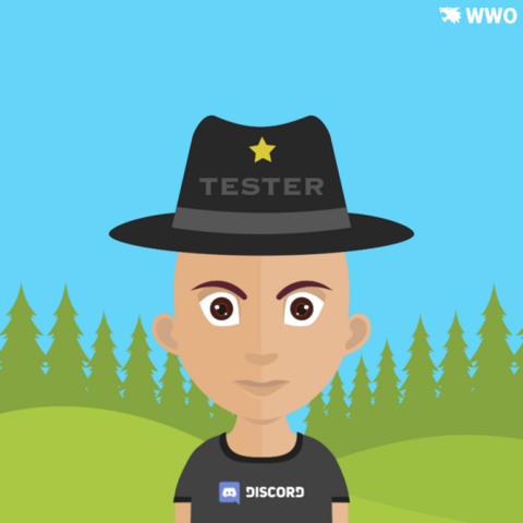 Old Discord Shirt And Tester Hat