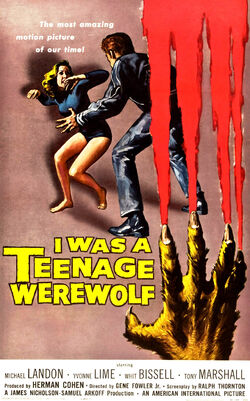 I Was a Teenage Werewolf