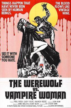 The Werewolf vs the Vampire Woman