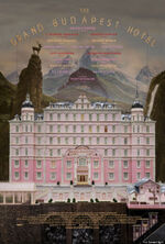 Wes anderson grand budapest hotel poster