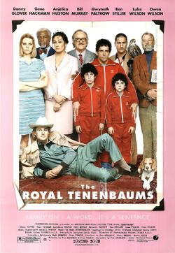 The Royal Tenenbaums Poster