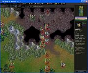 The Siege of Elensefar - into the cave (Bottleneck fight won)